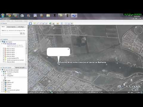 cerro la ballena - google earth