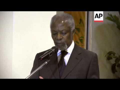 Former UN chief urges Nigerians to unite against Boko Haram