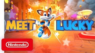 "New Super Lucky's Tale Trailer #2 - ""Meet Lucky!"" - Nintendo Switch"