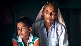 76-Year-Old Mother Struggles To Keep Up With 6-Year-Old Son