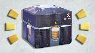 Overwatch Anniversary Loot Boxes - BEST LUCK EVER