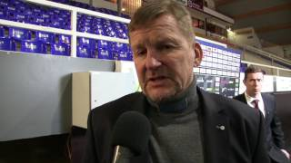 13.01.2017 Lukko vs. Ässät: valmentajan analyysi