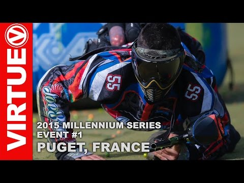 2015 Millennium Paintball Event 1 - Awesome Highlights from Puget, France