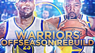 82-0 SEASON!?!? WARRIORS OFFSEASON REBUILD!! NBA 2K17 MY LEAGUE