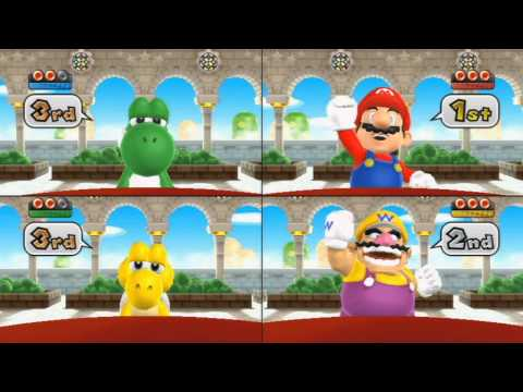 Mario Party 9 - All Free-For-All Mini Games part 2