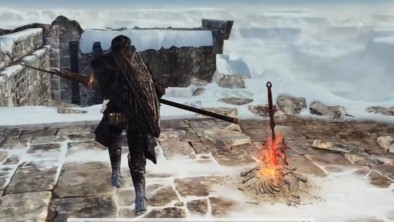 Bonfire locations in dark souls