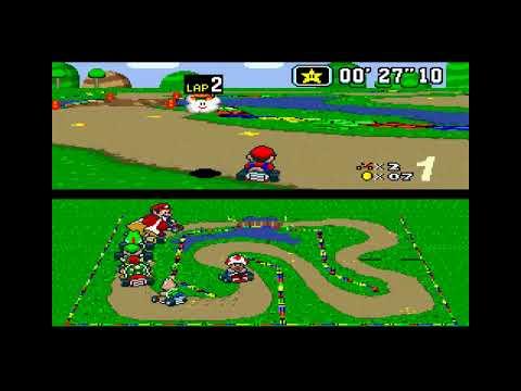 Mario Kart- Desafio para o Kamek