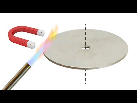 Термомагнитный мотор на основе точки Кюри своими руками