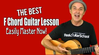Best F Chord Guitar Lesson Easily Master F Major