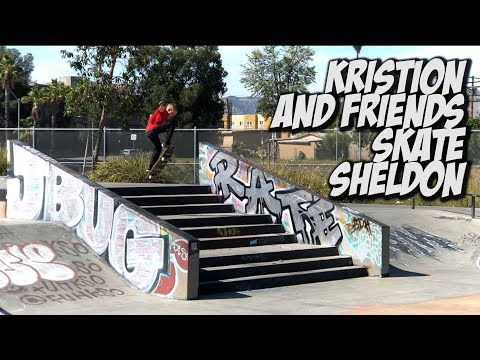 10 YEAR OLD KRISTION SHREDS SHELDON & MUCH MORE !!! - NKA VIDS -