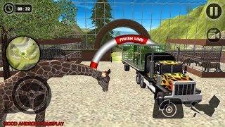 Wild Animal Transport Truck Simulator 2018 - Heavy Truck Platform Transport Android GamePlay FHD