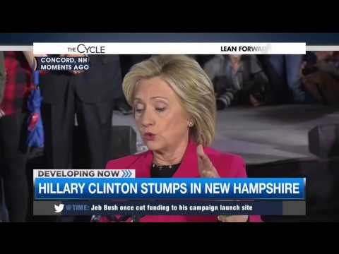 MSNBC: Clinton Dodges On Trade And Obama's Income Inequality Record