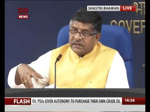 Press Briefing on Cabinet Decisions by Shri Ravi Shankar Prasad on  6th April 2016