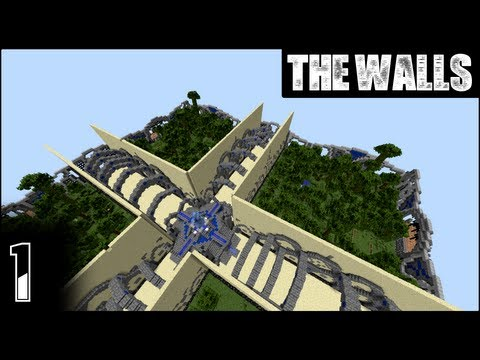 Minecraft: The Walls - Episode 1 - Hypixel's Automated Walls Servers!