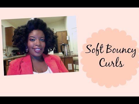 Soft Bouncy Hair (Two Strand Twists on Blown Out Hair)