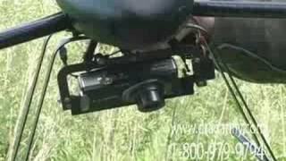 Draganflyer X6 RC Helicopter HD& Still Camera Payloads