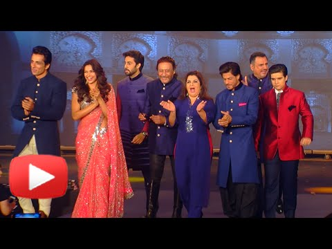 Shah Rukh Khan,Deepika Padukone,Abhishek Bachchan And Other Stars Walk The Ramp | HAPPY NEW YEAR