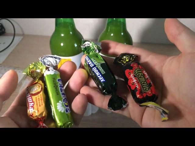 Закупка вкусняшек / сладости и радости / Пробую сладости антистресс и сладости бери и делай