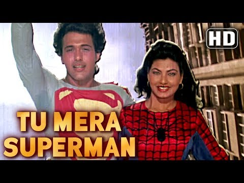 Tu Mera Superman - Govinda - Kimi Katkar - Dariya Dil - Comedy...