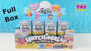 Hatchimals Colleggtibles Mermal Magic Color Change Blind Bag Figure Toy Review | PSToyReviews