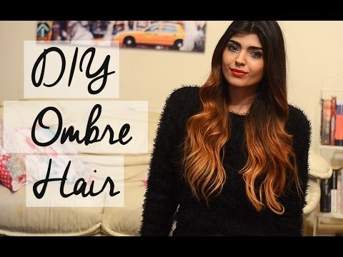 DIY Ombre Hair Tutorial / Talk For Dark Brown And Black Hair     shewearsfashion