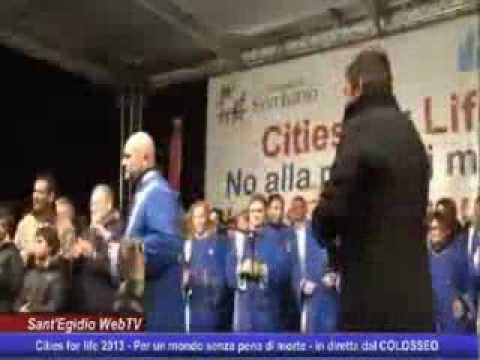 7 Hills Gospel Choir – Live at Colosseum – Cities for life 2013
