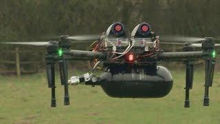 Des drones à pile à combustible - hi-tech