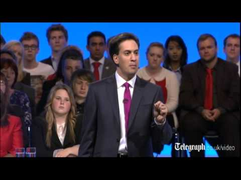 Ed Miliband: highlights of Labour Party conference speech