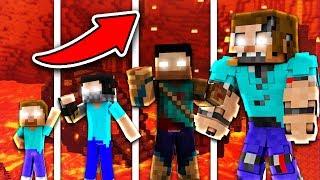 NẾU HEROBRINE CÓ CUỘC SỐNG TRONG MINECRAFT !!!! (Minecraft Người Trông Trẻ)