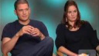 Wentworth Miller and Sarah Wayneies Interview Part 2