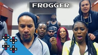 Jimmy Uso & Naomi's domestic laundry Frogger battle — Gamer Gauntlet