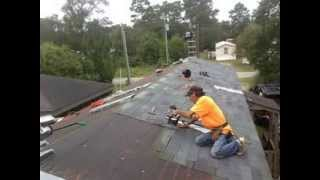 Re- Roofing a Mobile Home With Shingles - (910) 845-2207