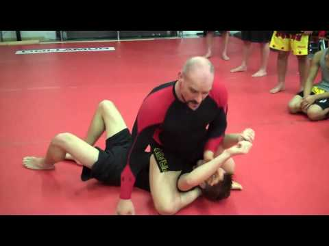 NoGi/MMA Double Leg-Butterfly Guard Sweep-Submission Image 1