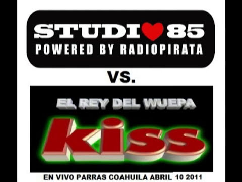 KISS SOUND VS. STUDIO85 RADIOPIRATA ABRIL 2011