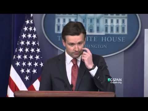 WH Press Sec. Josh Earnest Evades More Questions about Clinton Foundation and Russian Uranium Deal