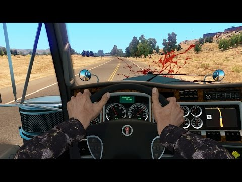ATS - Natasha's Adventures - Amusing Hands - American Truck Simulator Online - 1rst Person Mod