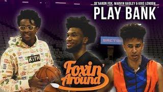 De'Aaron Fox, Marvin Bagley III, & Kris London rank the 5 toughest NBA players to guard & play BANK