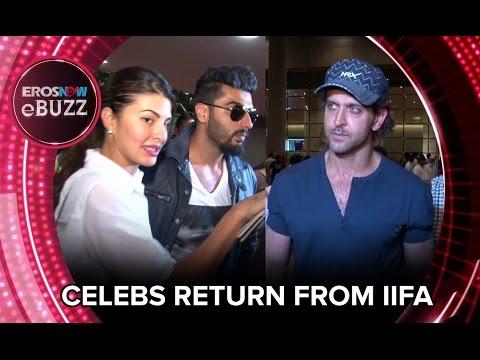Celebs Return From IIFA | ErosNow EBuzz | Bollywood News