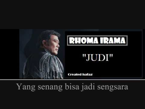 Rhoma Irama - Judi (LIRIK)