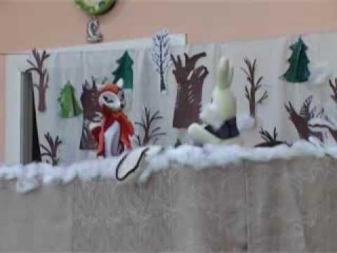 Сказка рукавичка кукольный театр