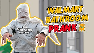 Walmart Bathroom Prank Call w/ SUBTITLES - OwnagePranks