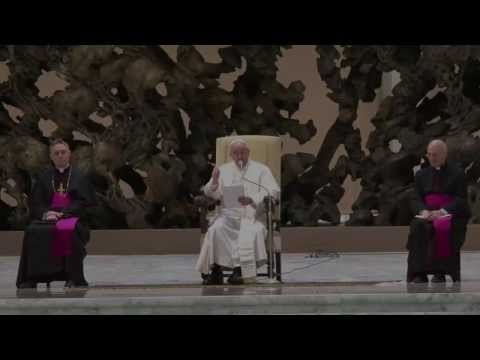 Vatican : False Prophet Francis calls for World Unity during Satanic Winter Solstice (Dec 25, 2013)