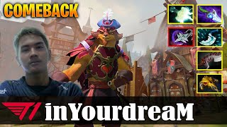 inYourdreaM - Pangolier MID | COMEBACK | Dota 2 Pro MMR Gameplay