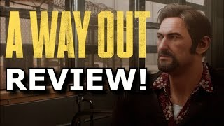 A Way Out Review! PERFECT CO-OP FUN?! (Ps4/Xbox One)