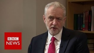 Jeremy Corbyn: Immigration is not too high - BBC News