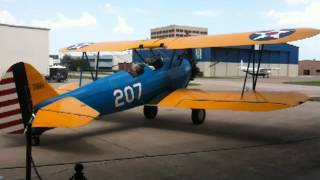 CFM Stearman Startup and Taxi