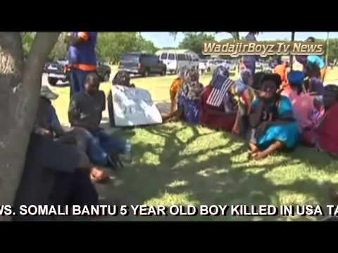WadajirBoyz TV News. Somali Bantu Boy Killed
