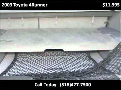 2003 Toyota 4Runner Used Cars East Greenbush NY