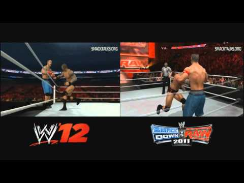 WWE '12 vs SVR 2011 Comparison | Smacktalks.org
