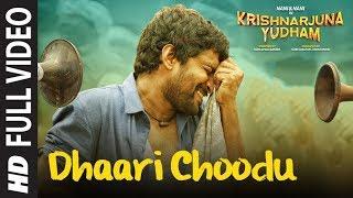 Dhaari Choodu Full Video Song Krishnarjuna Yudham Songs Nani Anupama Hiphop Tamizha